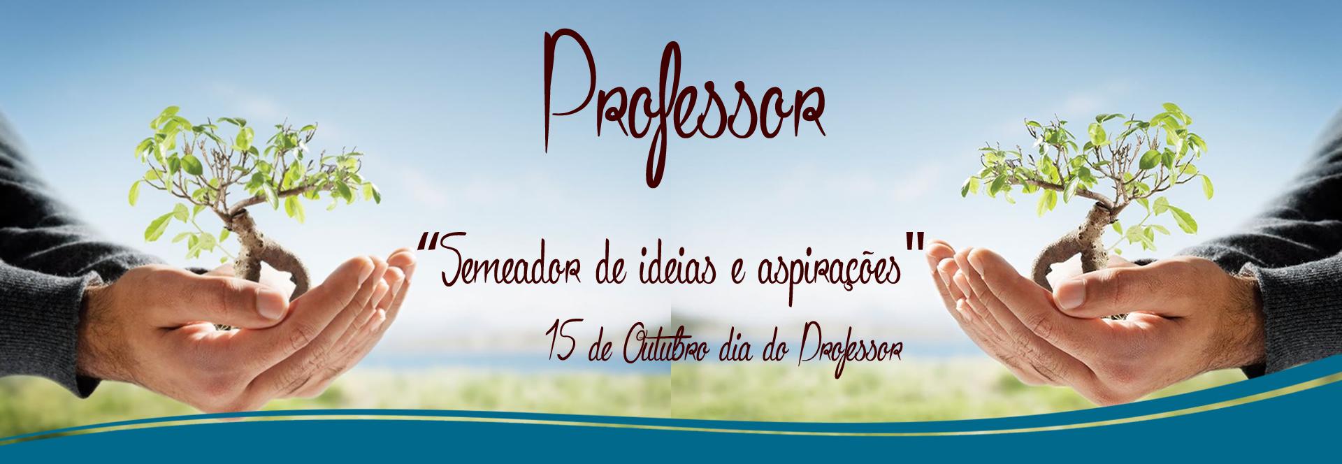 Banner Homenagem dia dos Professores